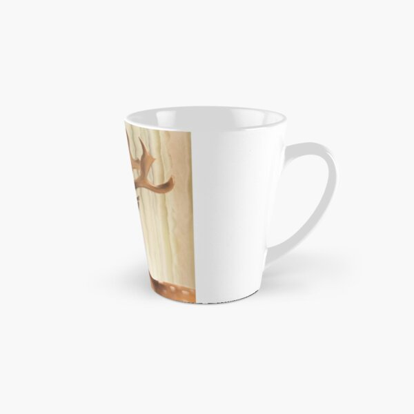 Portrait of a young Stag Tall Mug