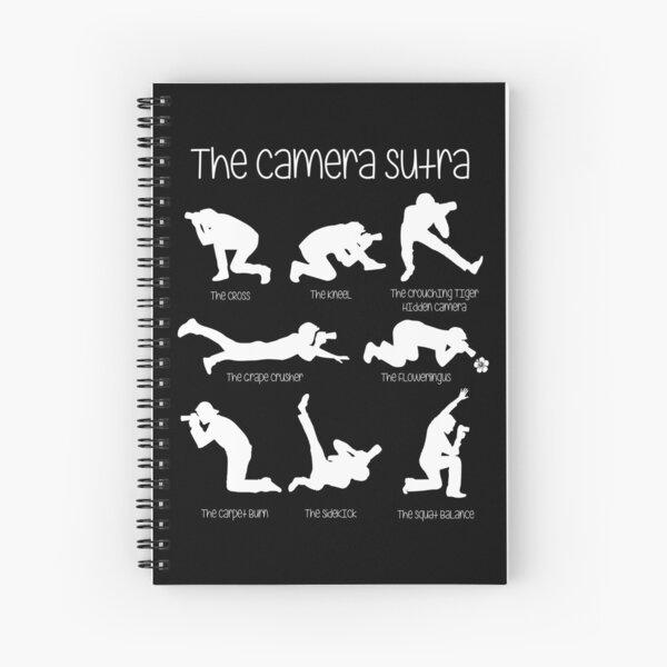 Camera Sutra Funny Photographer Design Spiral Notebook