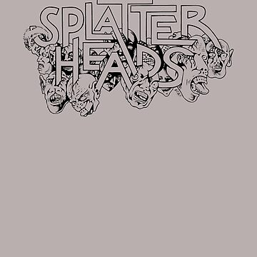Splatterheads (black) by SCARstudios