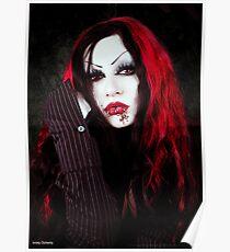 a vampires portrait  Poster