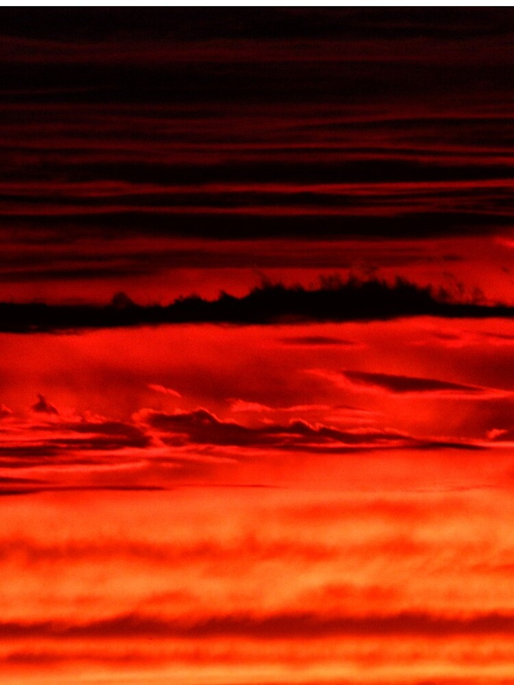 Evening Clouds Abstract by wselander