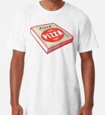 Pizza, Pizza Box, Box, Fresh Pizza Long T-Shirt