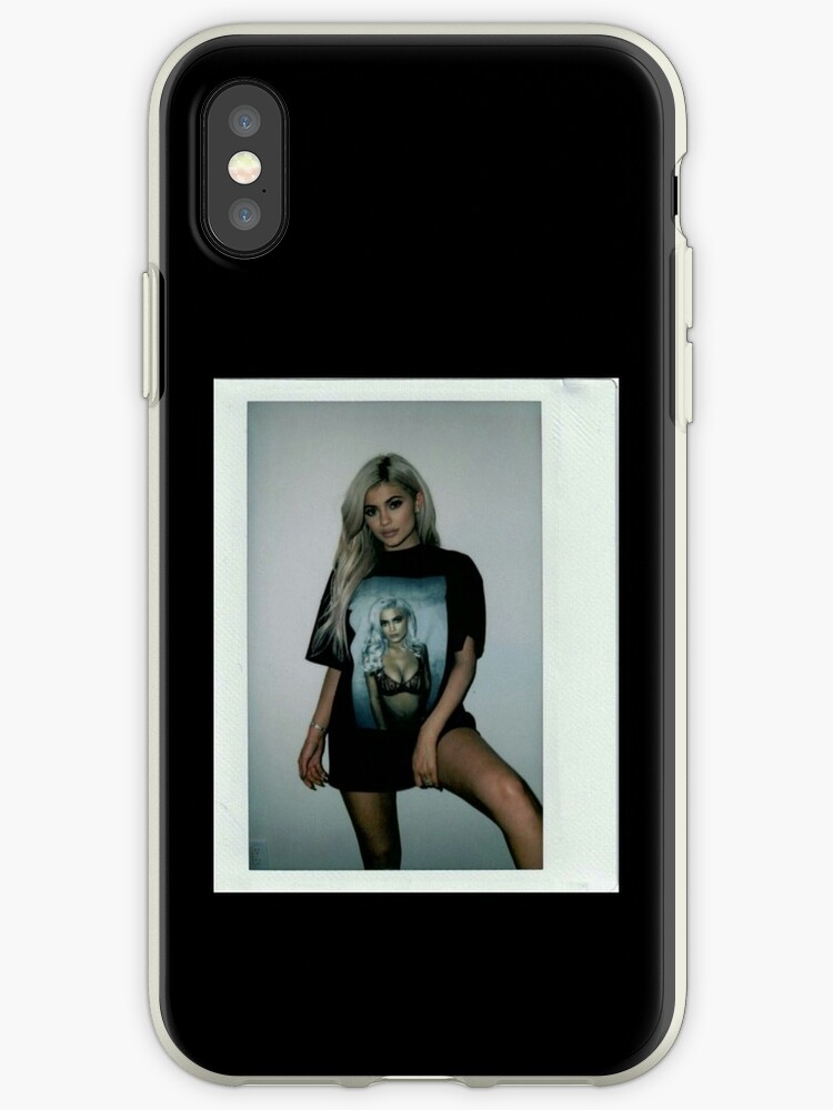 on sale 5d133 0c979 'Kylie Jenner Polaroid 3.0' iPhone Case by AnaBelenOffic