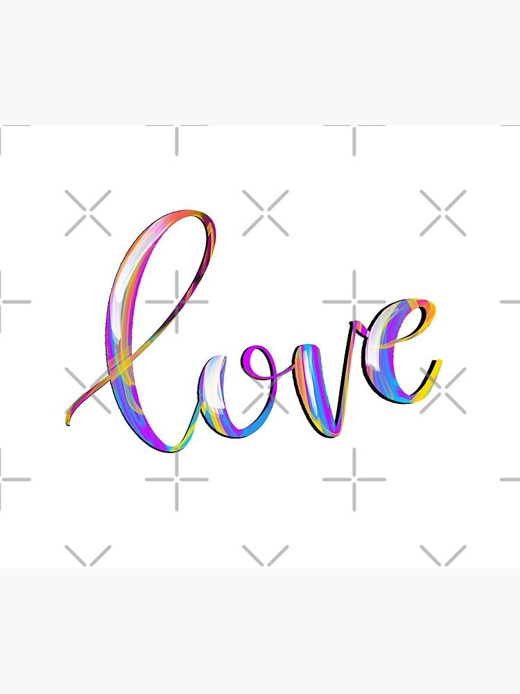 Colorful Love by mydabug