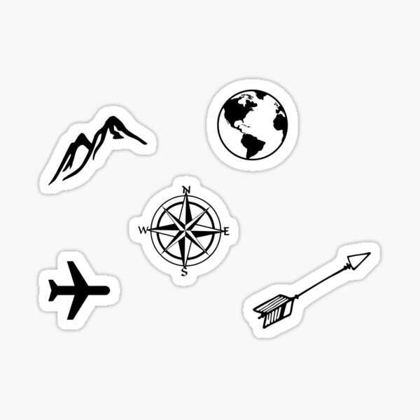 Mini Travel Stickers Sticker