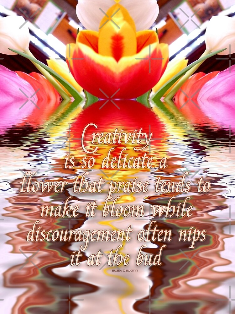 flower of creativity by webgrrl