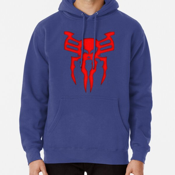 Spider Chest 2099 Comic Pullover Hoodie