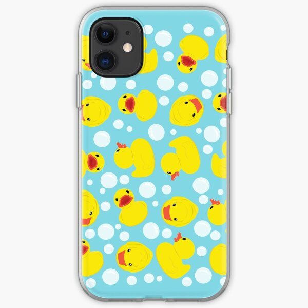 Rubber Duckies iPhone Soft Case