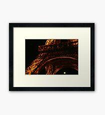 Eiffel Tower detail - Paris, FR Framed Print