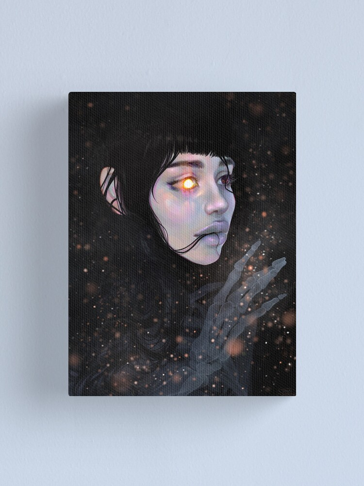 Alternate view of The Mystery of Unbeing Canvas Print