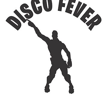 Disco fever Dance Video Game Gamers Emote Funny Boys Kids by hlcaldwell