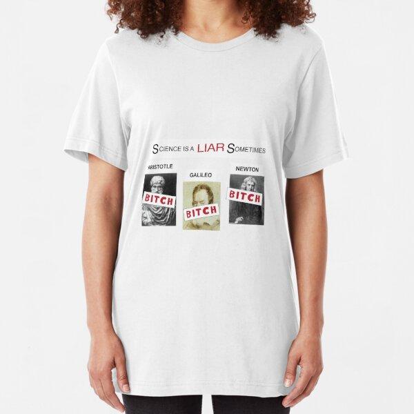 Science is a liar sometimes - It's always sunny in Philadelphia Slim Fit T-Shirt