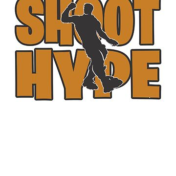 Shoot hype Dance Video Game Gamers Emote Funny Boys Kids by hlcaldwell