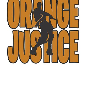 Orange justice Dance Video Game Gamers Emote Funny Boys Kids by hlcaldwell