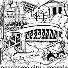 Peachtree City, Georgia Souvenir by LIMEZINNIASDES