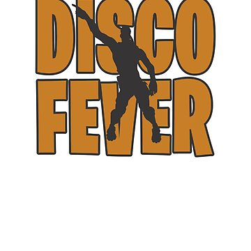 Disco fever Dance Video Game Gamers Emote Funny Boys Kids 2 by hlcaldwell