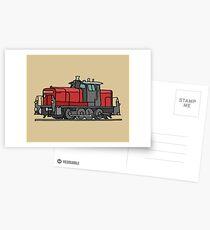 Diesel locomotive Postcards