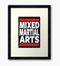 Mixed Martial Arts Framed Print
