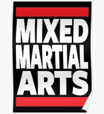 Mixed Martial Arts Poster