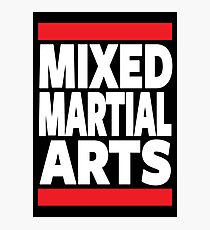 Mixed Martial Arts Photographic Print