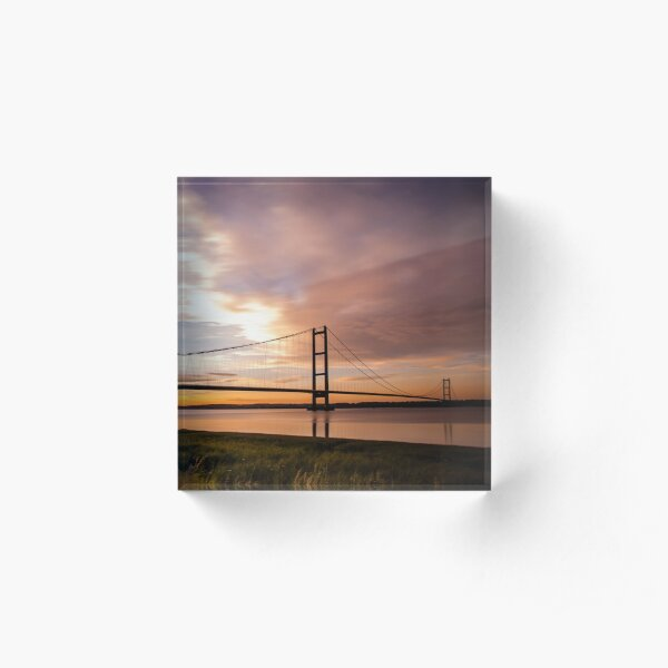 This ain't no technological breakdown, Oh no, this is the road to Hull Acrylic Block