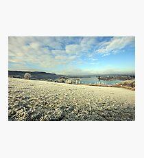 Inchiquin Lake in winter Photographic Print
