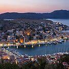 Symi island (Greece) at dusk by Yannis Larios