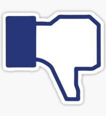 Dislike - Facebook Sticker