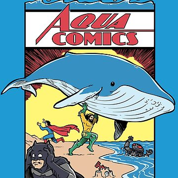 Aqua Comics Issue 1 by harebrained