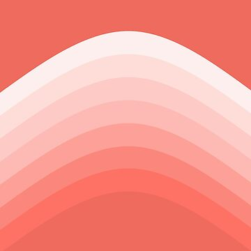 Pretty Coral Stripes by Greenbaby