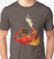 Dragon barbecue Unisex T-Shirt