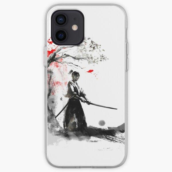Samouraï japonais Coque souple iPhone