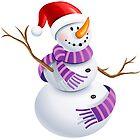 snowman of christmas by matheusfiorino