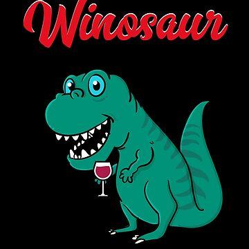 Winosaurus winosaur by vladocar