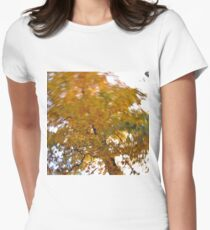 Autumn Daze III Women's Fitted T-Shirt