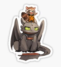 How to train your dragon ! Sticker