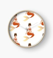 Mermaid  Clock