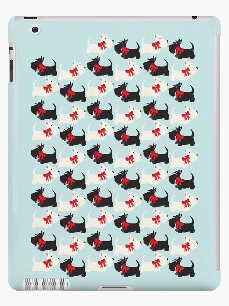 Scottie Dog iPad case by BonniePortraits
