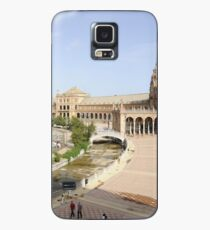 Plaza de Espana, Seville, Spain Case/Skin for Samsung Galaxy