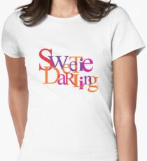 Sweetie Darling Women's Fitted T-Shirt
