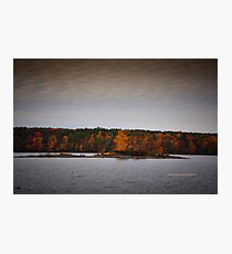 New York's Salmon river reservoir  II Photographic Print