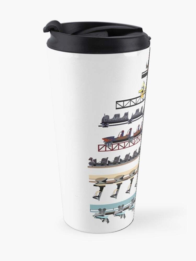 Alternate view of Alton Towers Coaster Trains Design Travel Mug