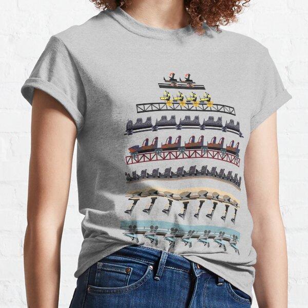 Alton Towers Coaster Trains Design Classic T-Shirt