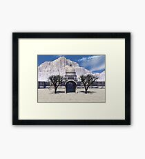 America's Temple  of Shame Framed Print