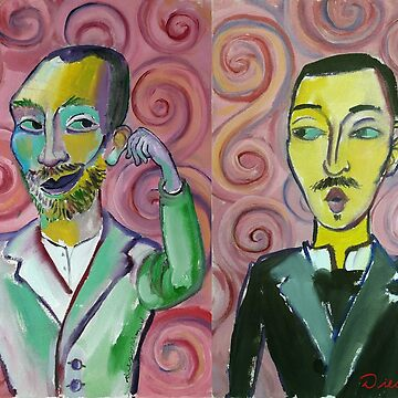 Vincent van Gogh and Theo by diegomanuel