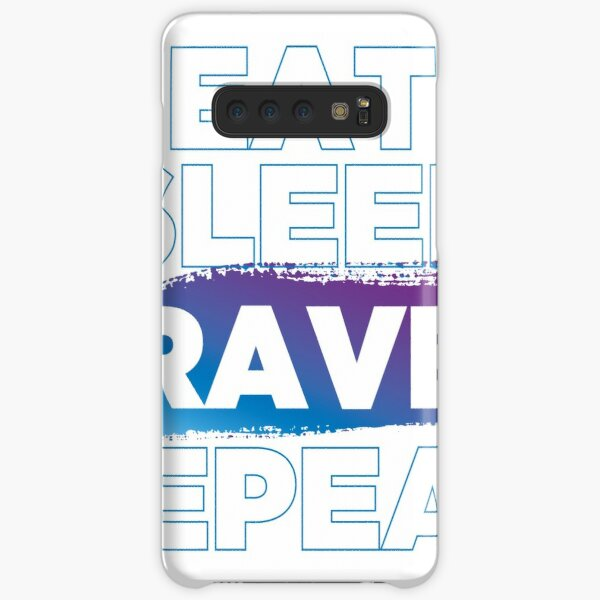Eat Sleep Rave Repeat Samsung Galaxy Snap Case