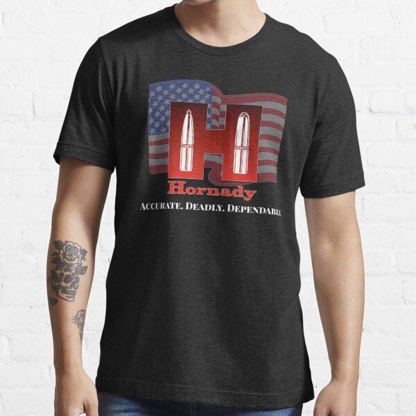 Hornady ammunition American flag tee  Essential T-Shirt