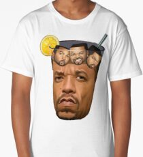 Ice Tea & Ice Cubes Long T-Shirt
