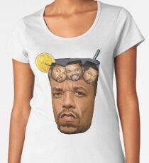 Ice Tea & Ice Cubes Women's Premium T-Shirt