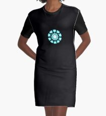 Iron Reactor Graphic T-Shirt Dress